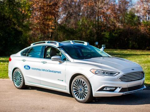 Ford unidad de coches autónomos.