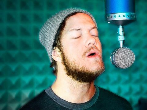 Imagine Dragons micrófonos Blue