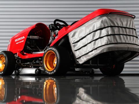 El insano cortacésped con el que Honda quiere alcanzar 250 km/h
