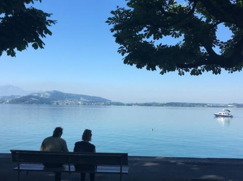 Lake Zug.
