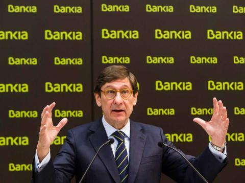 José Ignacio Goirigolzarri, presidente ejecutivo de Bankia.
