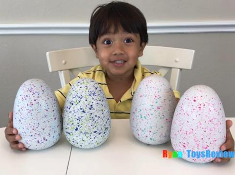Ryan, now 7, of Ryan ToysReview.