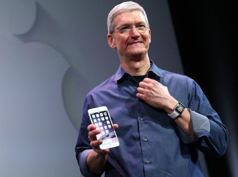 Tim Cook, CEO de Apple [RE]