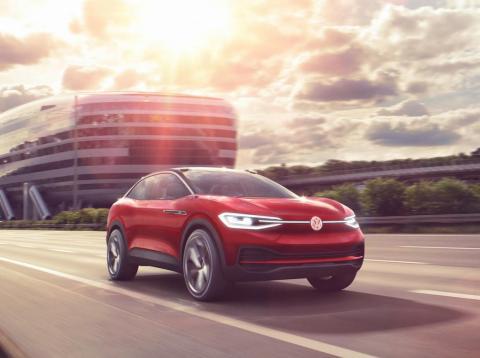 Volkswagen's I.D. Crozz will arrive in 2020.