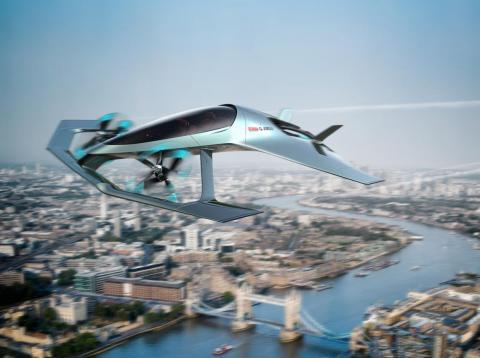 El Aston Martin Volante Vision Concept.