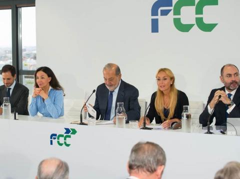 Carlos Slim en el investors Day 2018 de FCC