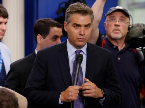 CNN White House correspondent Jim Acosta