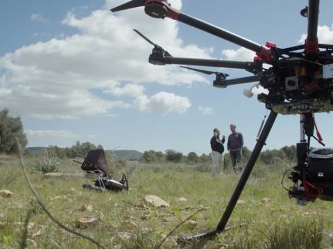 Co2 Revolution startup drones para reforestar
