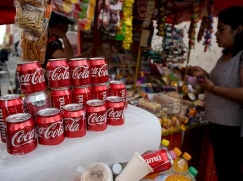Coca-Cola has become a huge part of Mexican culture.