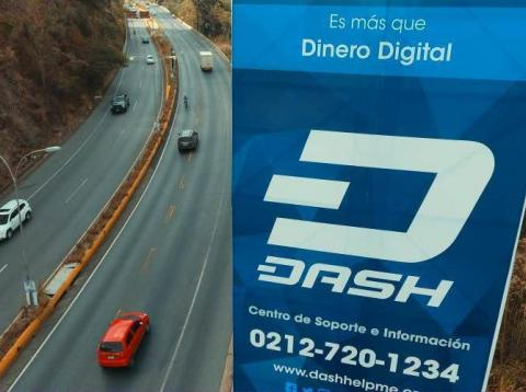 A Dash billboard in Venezuela.