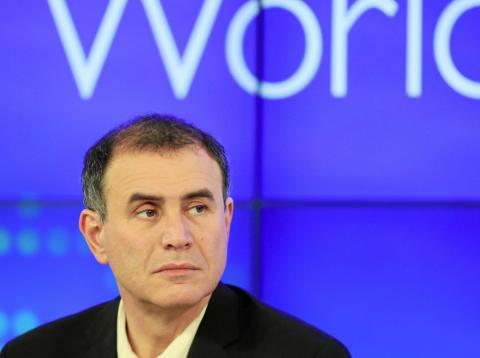 El economista, Nouriel Roubini.