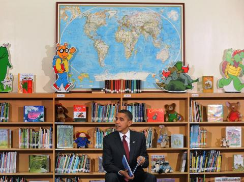 Former President Barack Obama is a voracious reader.