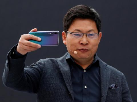 Richard Yu, CEO of Huawei's consumer business group.