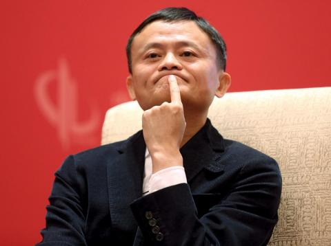 El presidente ejecutivo de Alibaba, Jack Ma.
