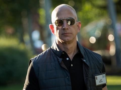 El CEO de Amazon, Jeff Bezos.