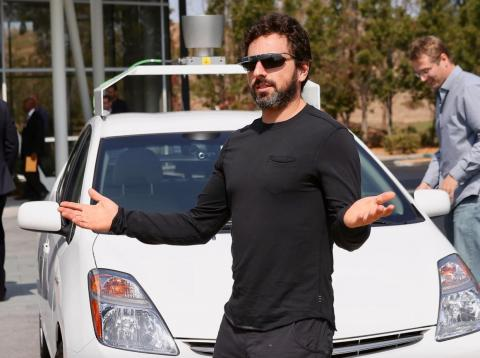 Sergey Brin, cofounder of Google, which has come under fire from employees for reportedly considering launching a censored version of its search engine in China.