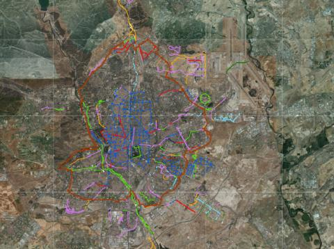 Si compraste un patinete eléctrico para moverte por Madrid, ahora solo podrás usarlo en estas calles que salen en este mapa