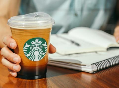 Starbucks is rolling out paper straws at some of its stores starting in September