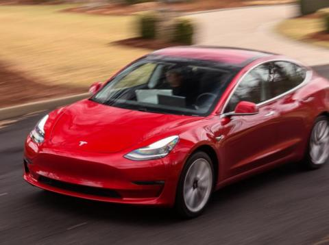 The Tesla Model 3 didn't do well in the test.