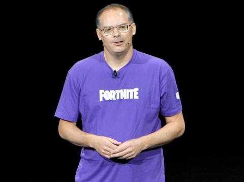 El CEO de Epic Games, Tim Sweeney.