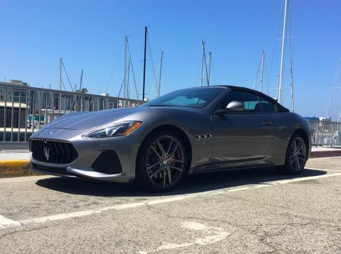 Our Maserati GranTurismo test car.