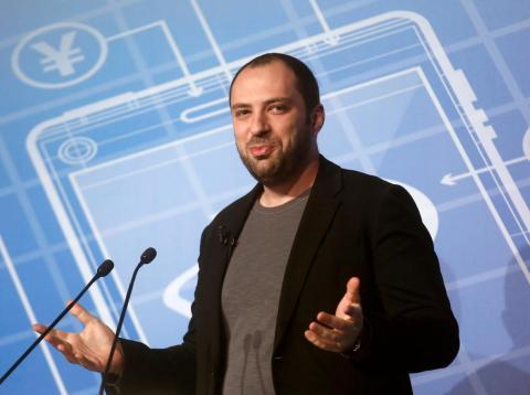 The WhatsApp cofounder Jan Koum.