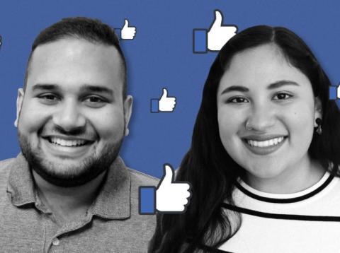 Danial Hussain y Konce Quispe, de prácticas en Facebook [RE]
