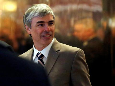 El confundador de Google Larry Page [RE]