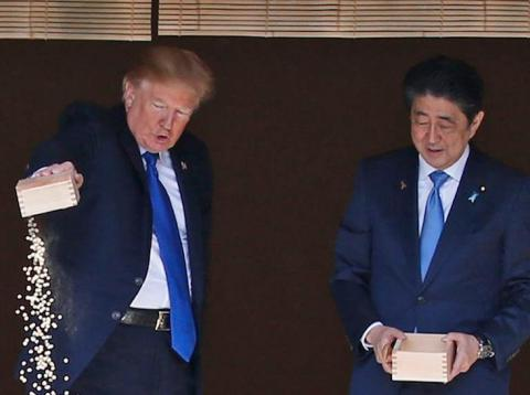 It looks like Trump has found the next big target in his trade war — Japan
