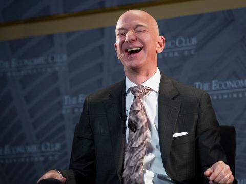 El CEO de Amazon, Jeff Bezos.