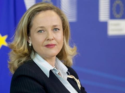 Nadia Calviño afirma que tarde o temprano habrá otra crisis económica