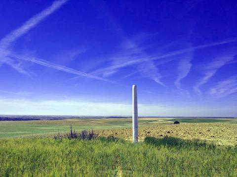 Molino de viento sin aspas de Vortex en Ávila