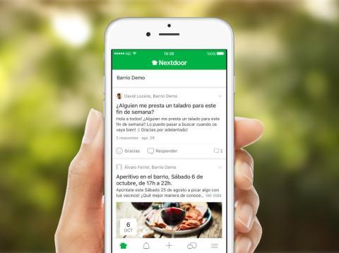 llega a España la app Nextdoor