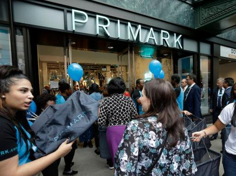 Primark es el retailer que registra un crecimiento más rápido en EEUU.