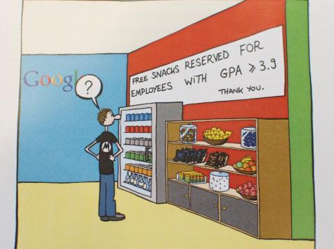 El libro de Manu Cornet analiza con humor el día a día en Google