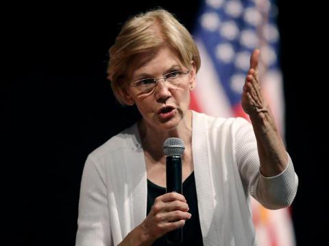 Sen. Elizabeth Warren called out Amazon.