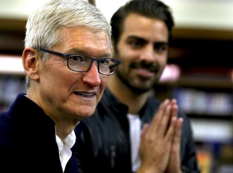 Under CEO Tim Cook, Apple has increasingly focused on high-end consumers.