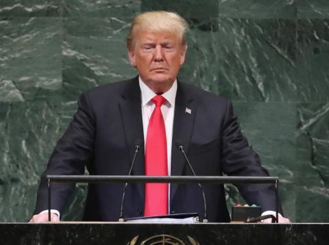 Los líderes mundiales se ríen de Trump en la ONU por decir que su Gobierno ha conseguido más que cualquier otro en la historia de EEUU [RE]
