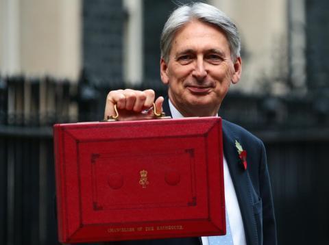 British Chancellor Philip Hammond.