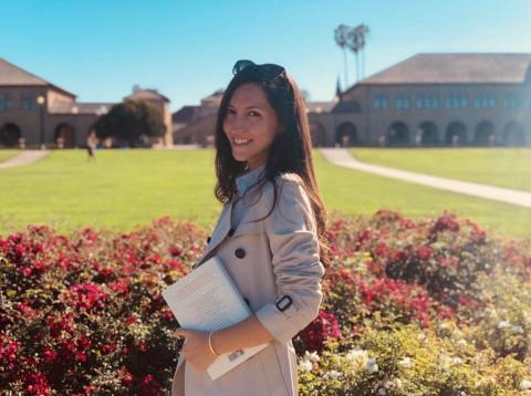 A day in the life of an HSBC exec who wakes up at 5:30 a.m. to work out, always eats green, and studies at Stanford in her free time