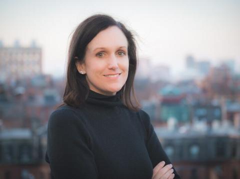 Katherine Hays, fundadora de la startup Vivoom.