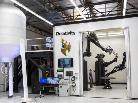 Stargate by Relativity Space is arguably the largest metal 3D printer in the world.