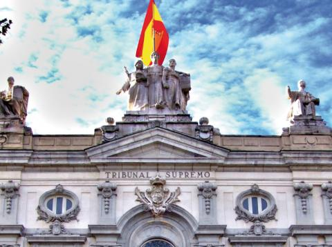 Tribunal Supremo en Madrid.