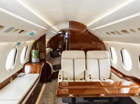 Así es volar en un jet privado [RE]