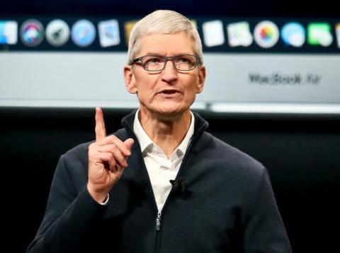 8. Tim Cook, CEO de Apple