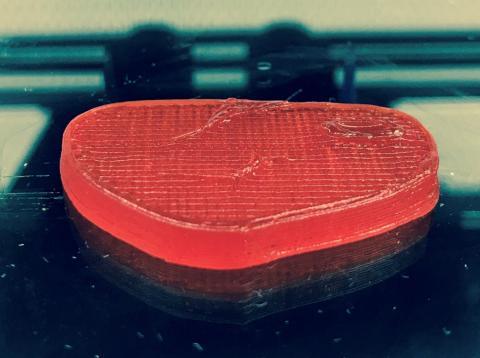 Bistec impreso en 3D de NovaMeat