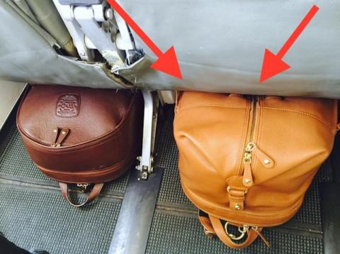 This couple invented a clever piece of luggage so you'll never have to check your bags again — here's how it works