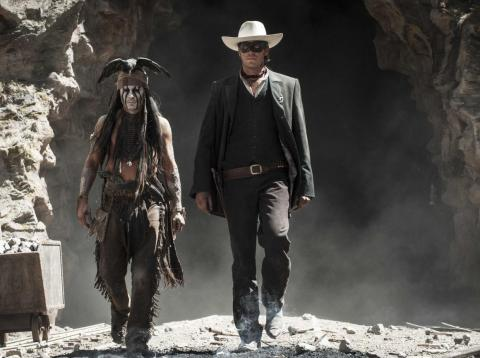 """The Lone Ranger"" was a box office disaster."