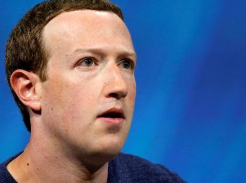 Mark Zuckerberg, CEO de Facebook, cuyo administrador de anuncios estuvo caído durante horas el pasado martes
