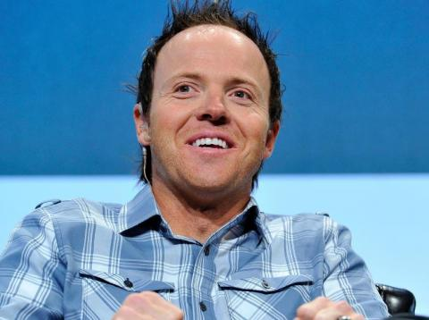Qualtrics CEO Ryan Smith at TechCrunch Disrupt SF 2015.